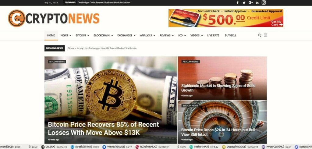 Automated Wordpress Bit coin Crypto News Website-Turnkey Profitable Site
