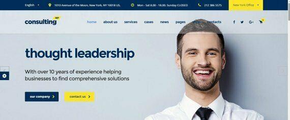 Bespoke Custom Consultancy Website Web Design Services