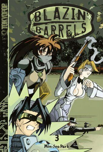 Blazin' Barrels: v. 3 by Park, Min-Seo Paperback Book The Fast Free Shipping