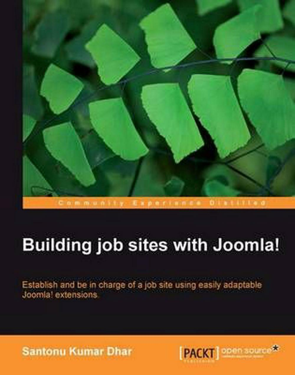 Building Job Sites With Joomla! by Santonu Kumar Dhar (English) Paperback Book F