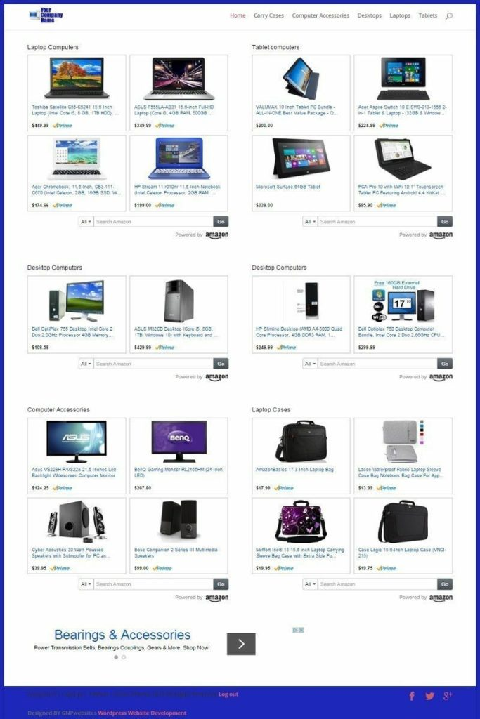 COMPUTERS, ACCESSORIES and SOFTWARE SHOP WEBSITE BUSINESS FOR SALE