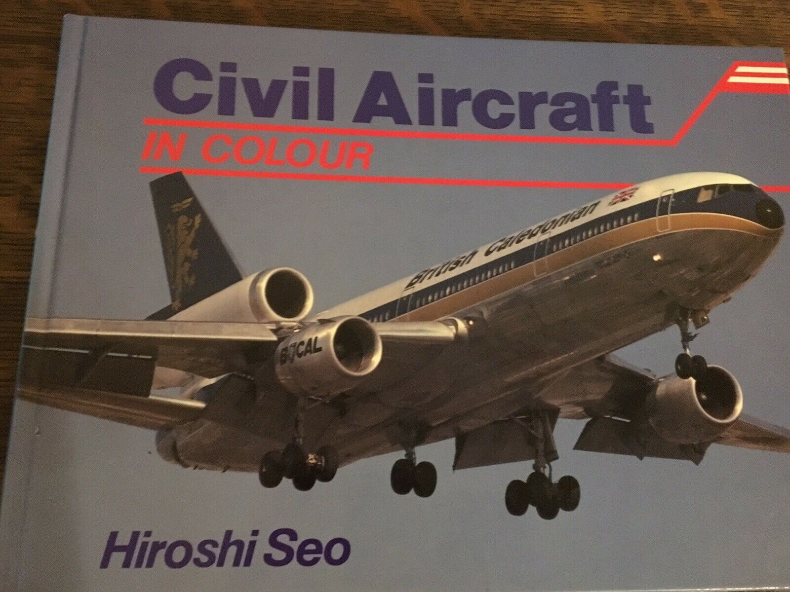 Civil Aircraft in Colour by Seo, Hiroshi Hardcover Book
