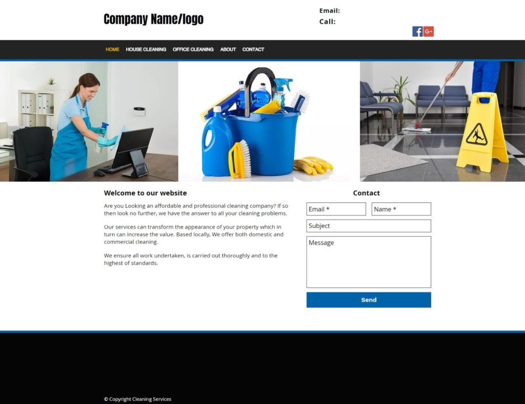 Cleaning Business for Sale, Website, Leaflet Template | £600+ Per Week