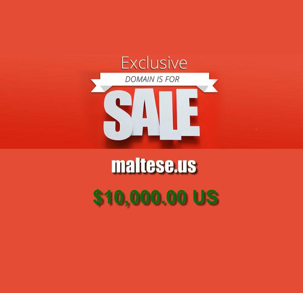 Domain for Sale: maltese.us
