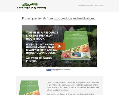 Everyday Roots Book | Live a Healthier, Natural Life