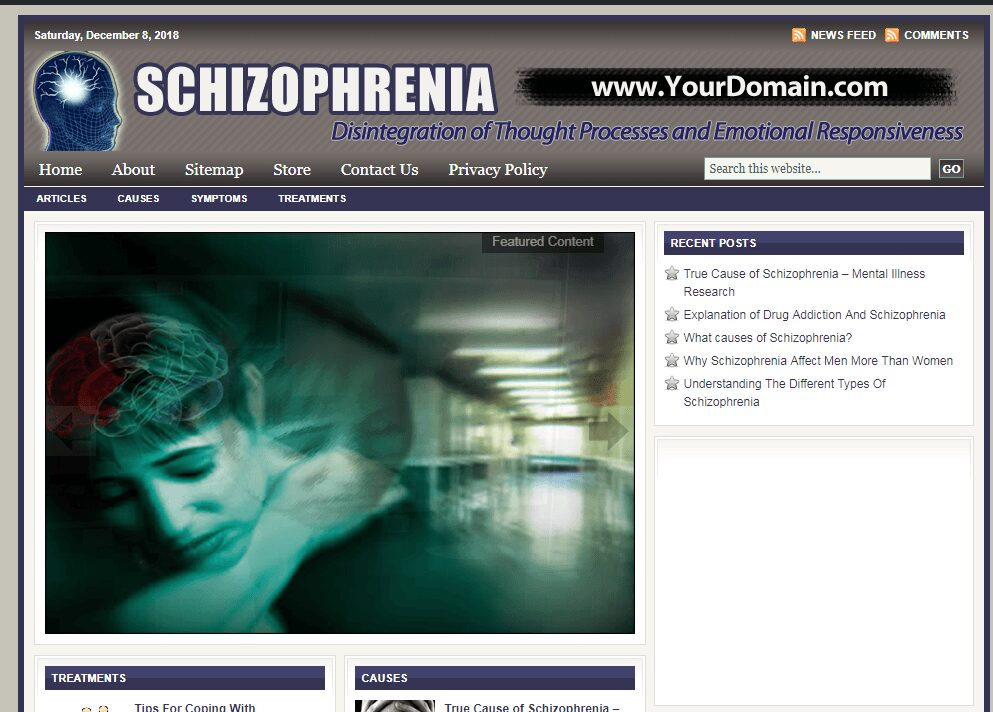 Exceptional Schizophrenia Store Website Free Installation + Free Hosting