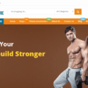 Exclusive Fitness Store Turnkey Business Website (Bronze Package)