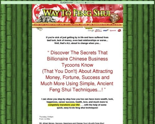 Feng Shui Secrets That Will Change Your Life -*plus*3 Bonus Gifts