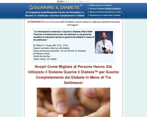 *GUARIRE IL DIABETE* - La Cura del Diabete