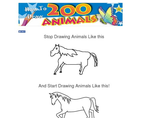 How To Draw Animals - Step by Step Books