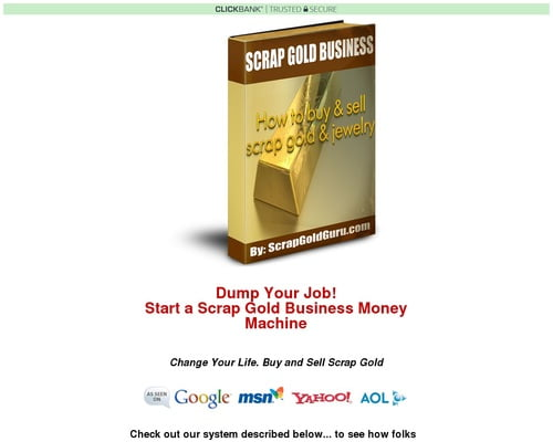 How to Start a Cash for Gold Scrap Gold Business