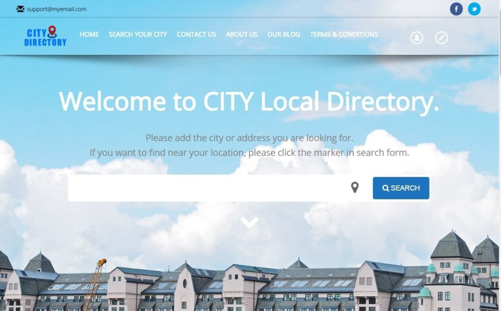 Local Business Directory Profitable Website - Hosting