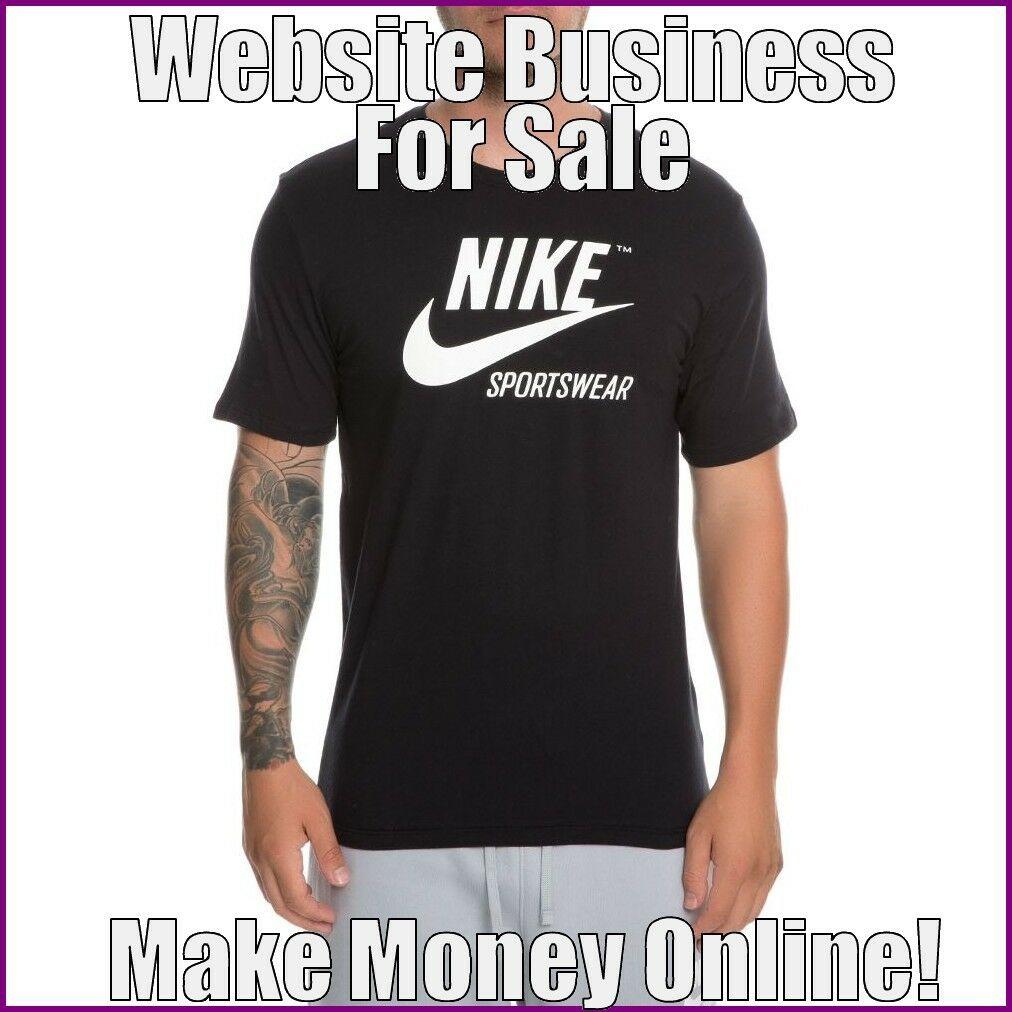 MENS SPORTSWEAR Website Earn $35.50 A SALE|FREE Domain|FREE Hosting|FREE Traffic