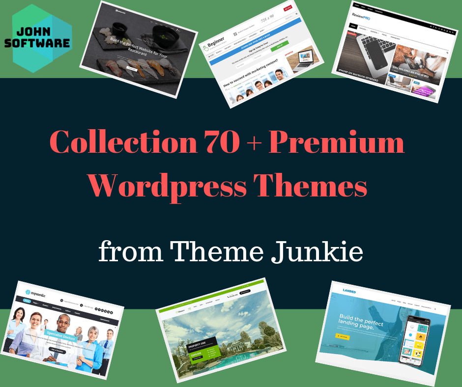 Premium Wordpress Theme Junkie Collection 70+ Themes/ Templates ⭐ 100% WORKING ⭐