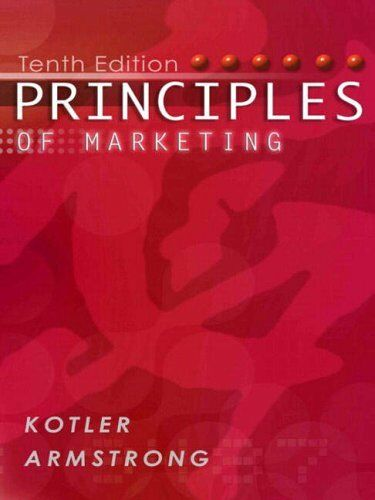 Principles of Marketing (International Edition) by Armstrong, Gary Paperback The
