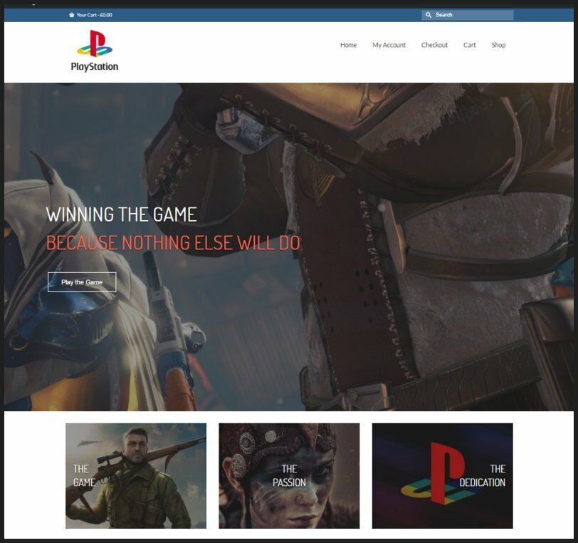 SONY PLAYSTATION Website|$112.34 A SALE|FREE Domain|FREE Hosting|FREE Traffic