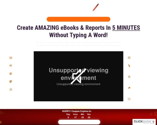 SQRIBBLE - Worlds #1 EASY TO USE & POWERFUL eBook Creator Studio