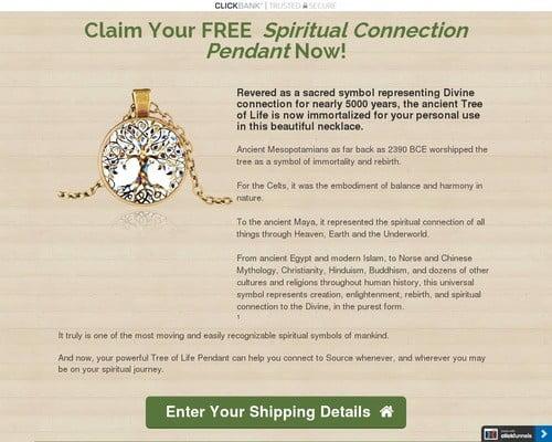 Spiritual Connection Pendant