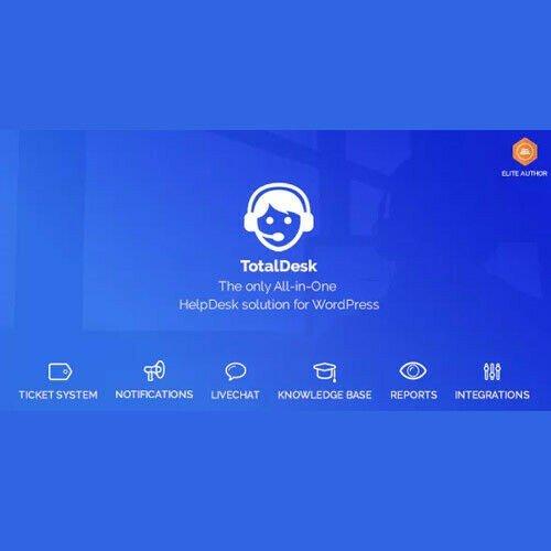 TotalDesk ⭐ Helpdesk Live Chat Knowledge Base & Ticket System ⭐ Wordpress Plugin