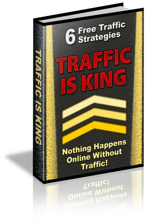 Traffic Is King PDF eBook+Master Resell Right