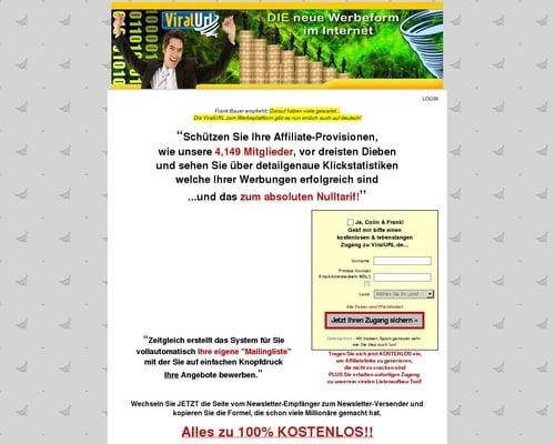 Verdienen Sie Bis Zu 50% Provision Mit Viralurl.de