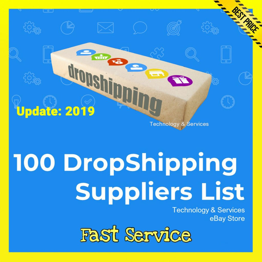 ✅ 100 DropShipping Suppliers List ✅ $0.99 ✅ Drop Shipping ✅ UPDATE 2019