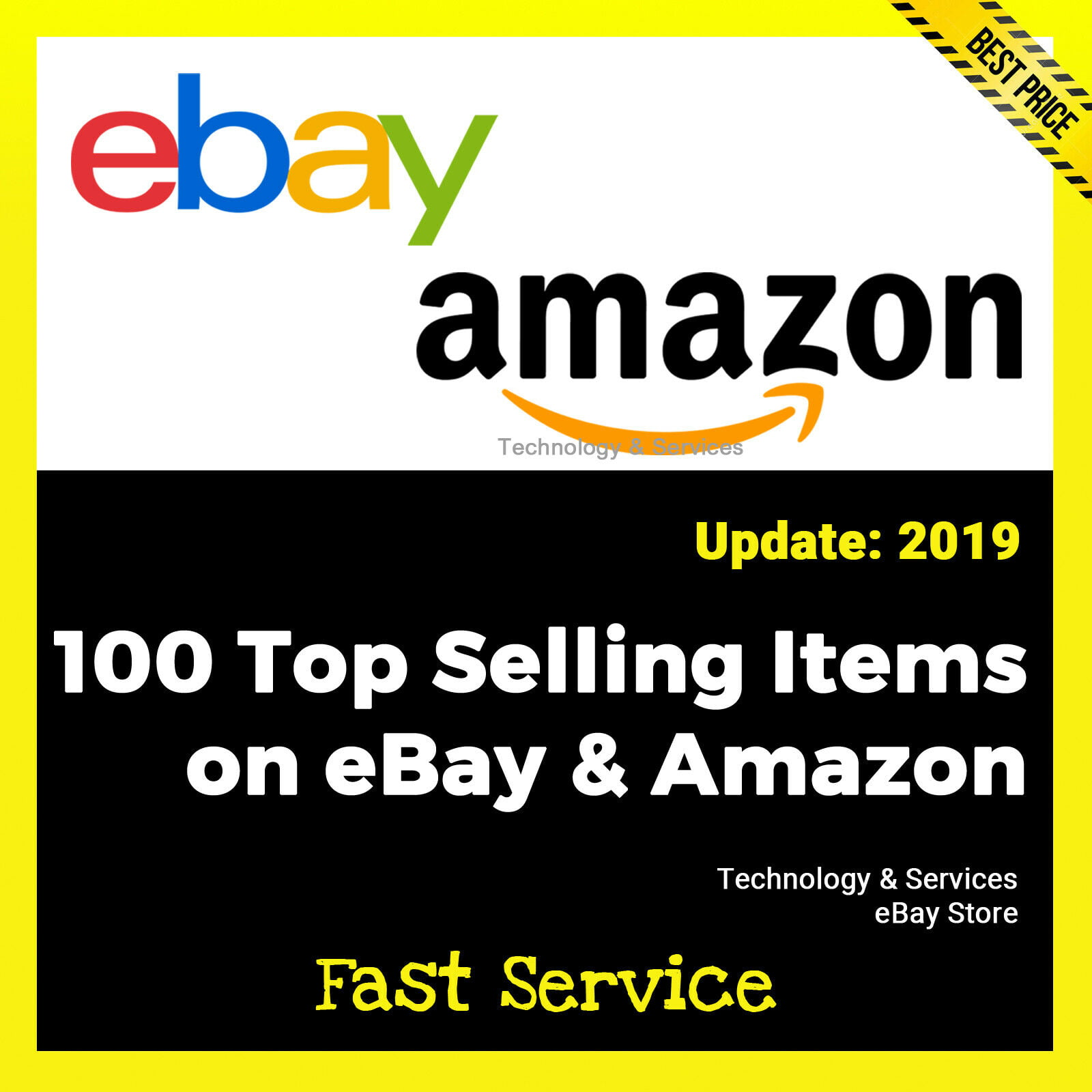 100 Top Selling Items On Ebay And Amazon For Only 0 99 Good To Seo