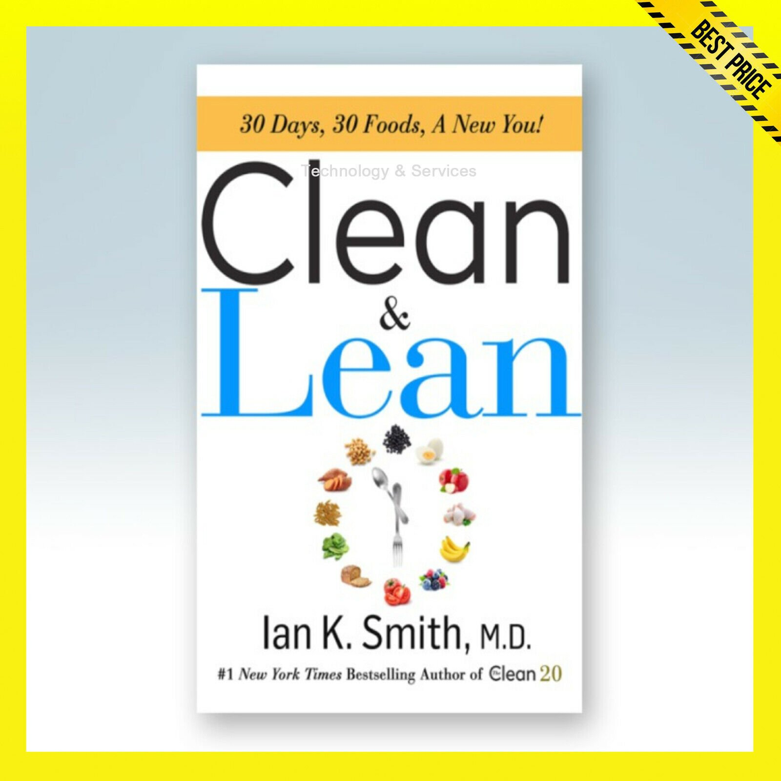 ✅ Clean and Lean ✅ 30 Days, 30 Foods, A new you! ✅ E-BOOK