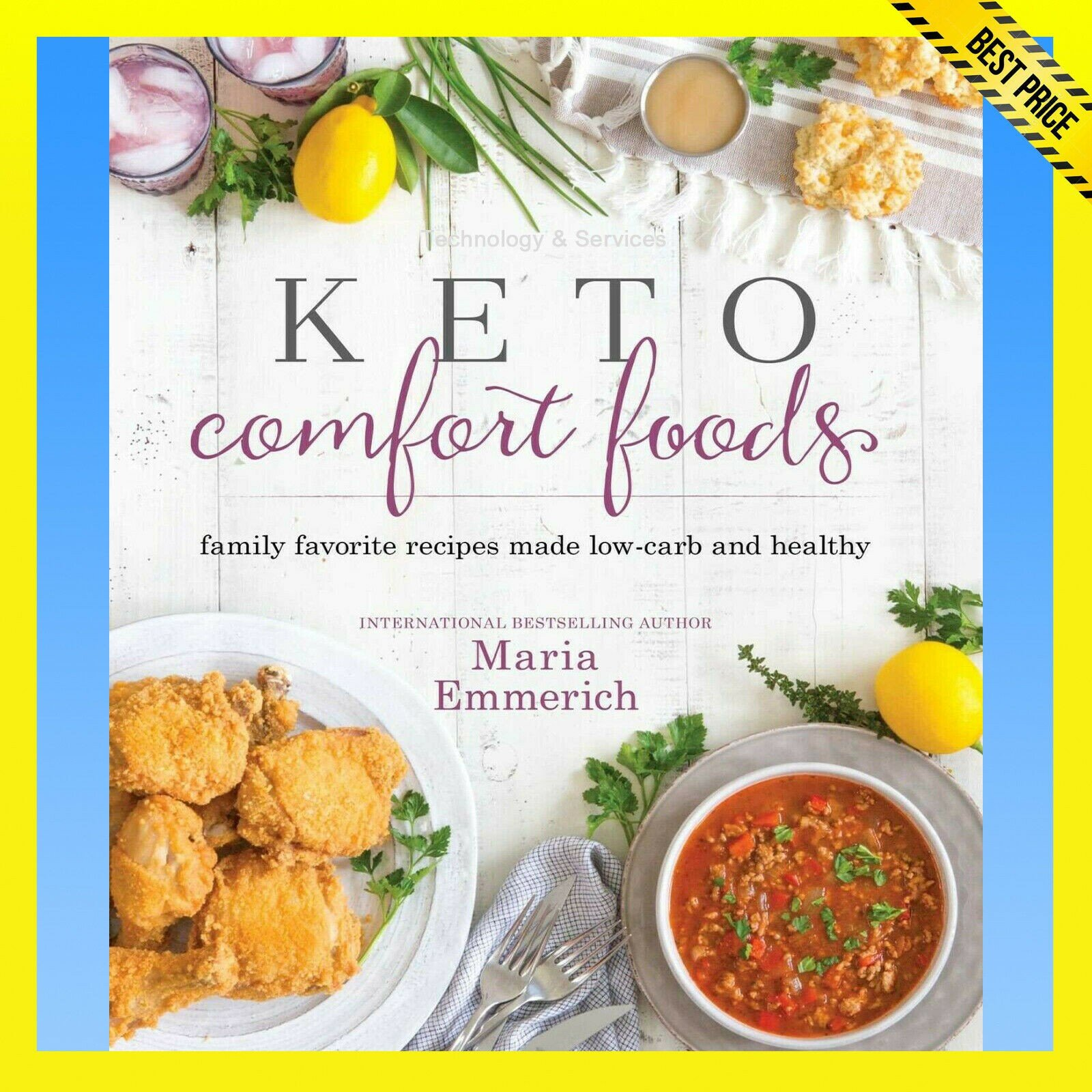 ✅ Keto Comfort Food ✅ Family favorite recipes made low-carb and healthy ✅ E-BOOK