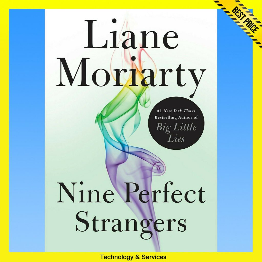 ✅ NINE PERFECT STRANGERS ✅ by Liane Moriarty ✅ E-BOOK