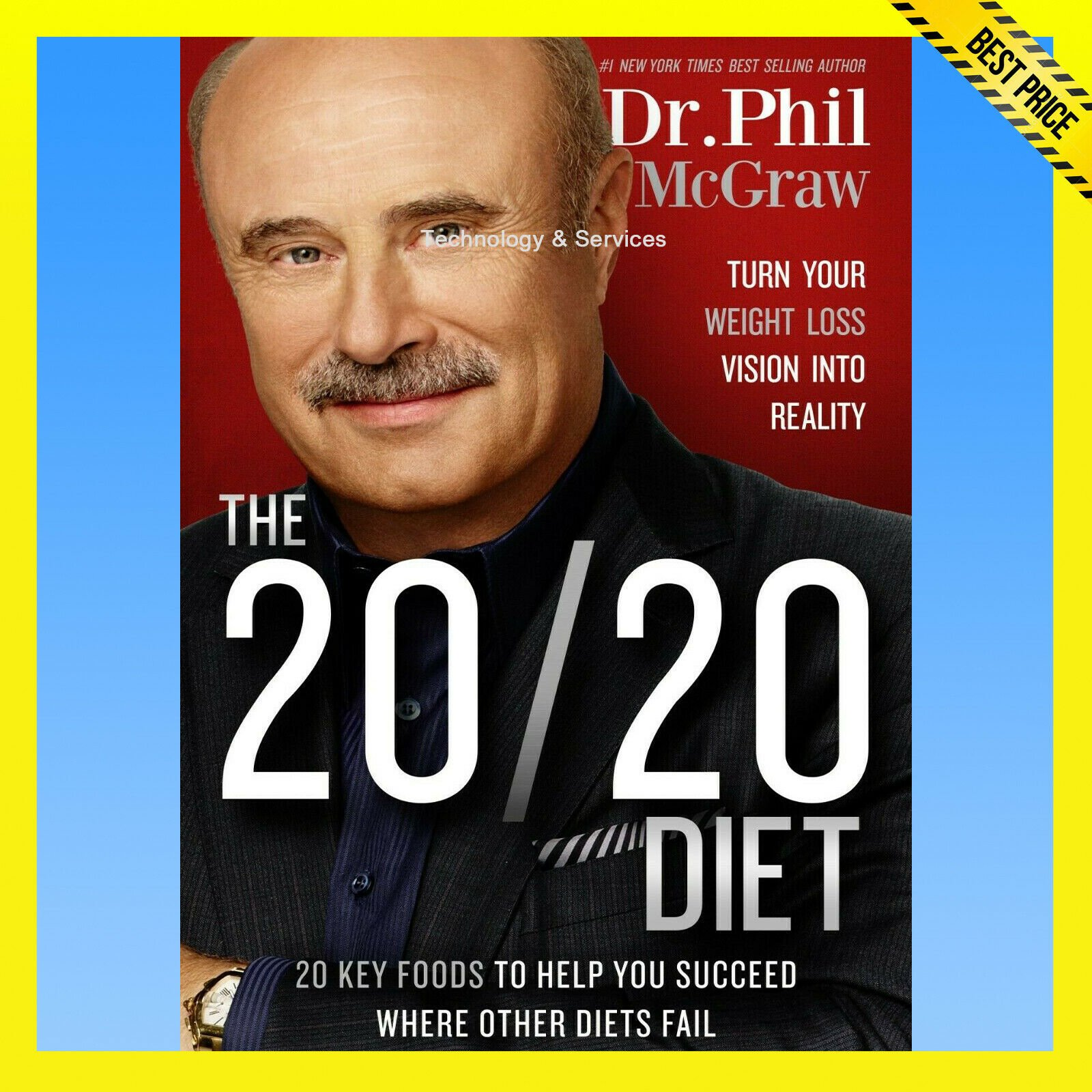 ✅ The 20/20 Diet by Phil McGraw ✅ E-BOOK