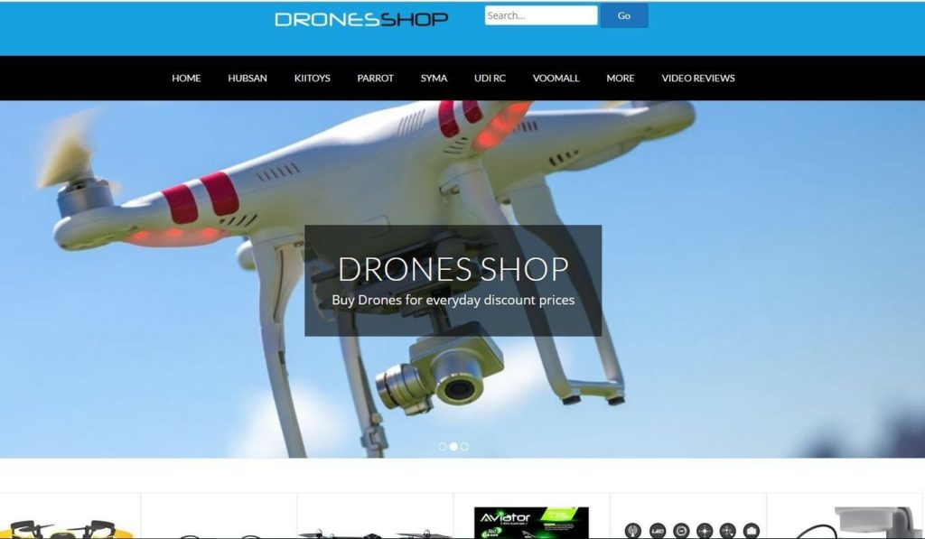 100% Fully Automated DRONE Website, Auto-Updated Daily- Super Profitable Niche