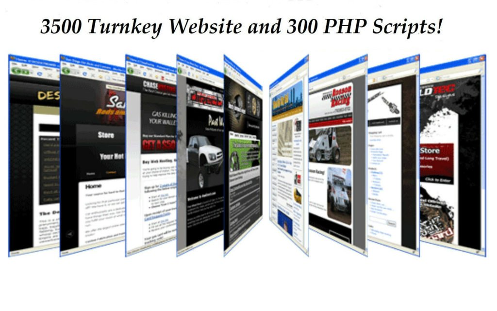 3500 Turnkey Websites & 300+ PHP Scripts With Resell Rights + BONUS GIFT SITE!