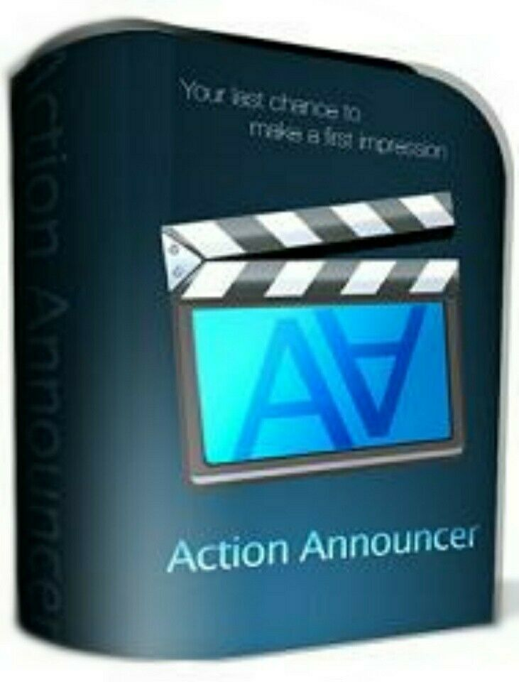 Action Announcer Your Best Chance To Make A First Impression - *w/Resell Rights*