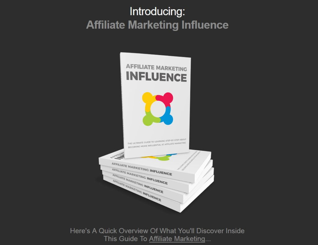 Affiliate Marketing Influence Business For Sale w/ Software MMR