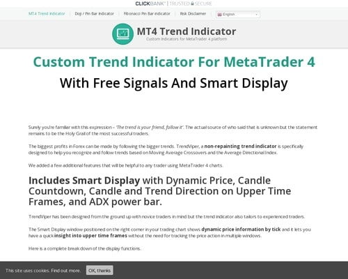 Best MT4 Trend Indicator With Free Signals - Download TrendViper