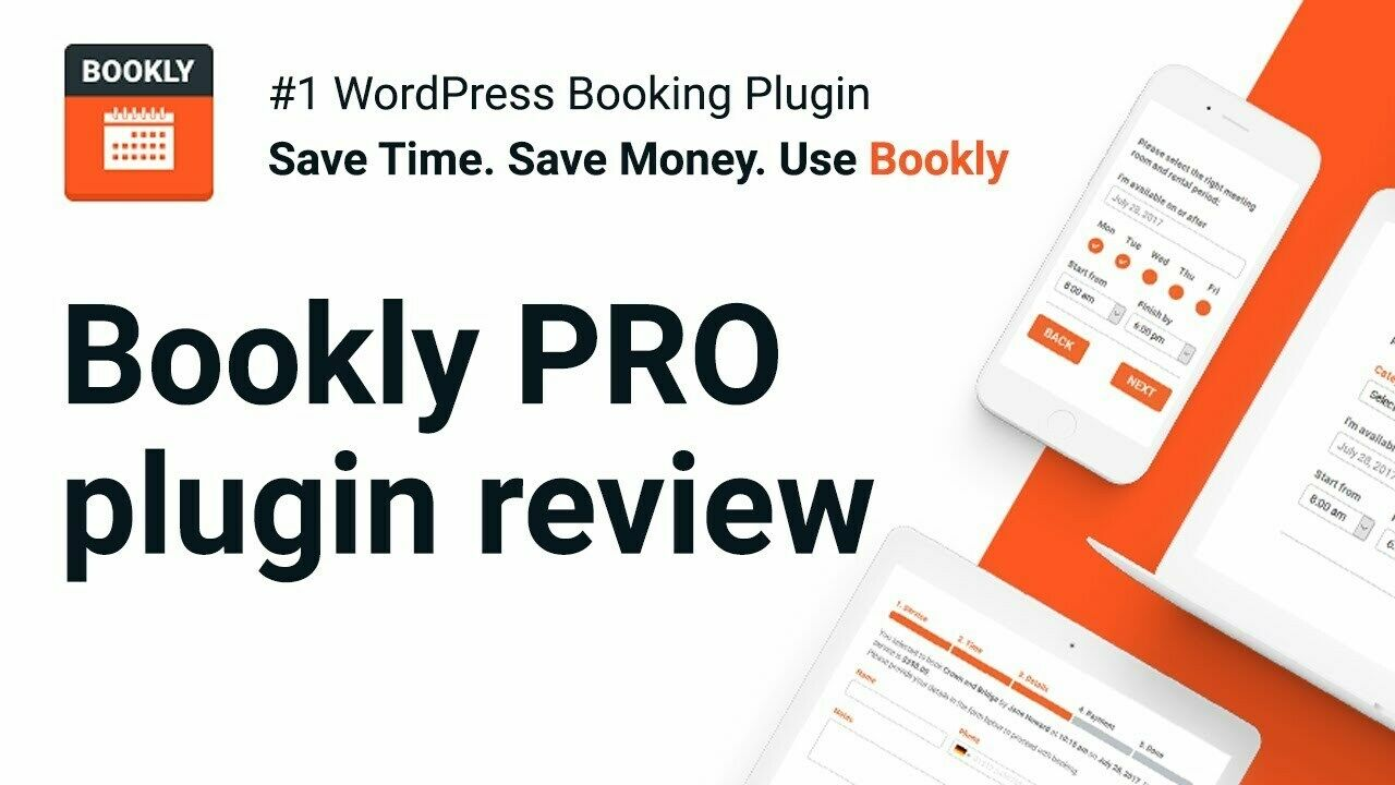 Bookly PRO – WordPress Appointment Booking Plugin for all types of businesses