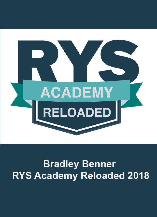 Bradley Benner RYS Academy Reloaded - $3000 Value