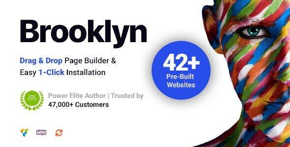 Brooklyn - Creative Multipurpose WordPress Theme