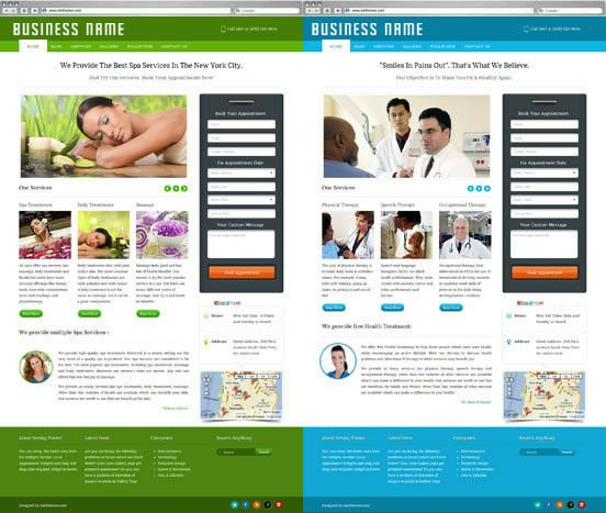 Business Website with Appointment Booking System for Beauty Salons, Doctors