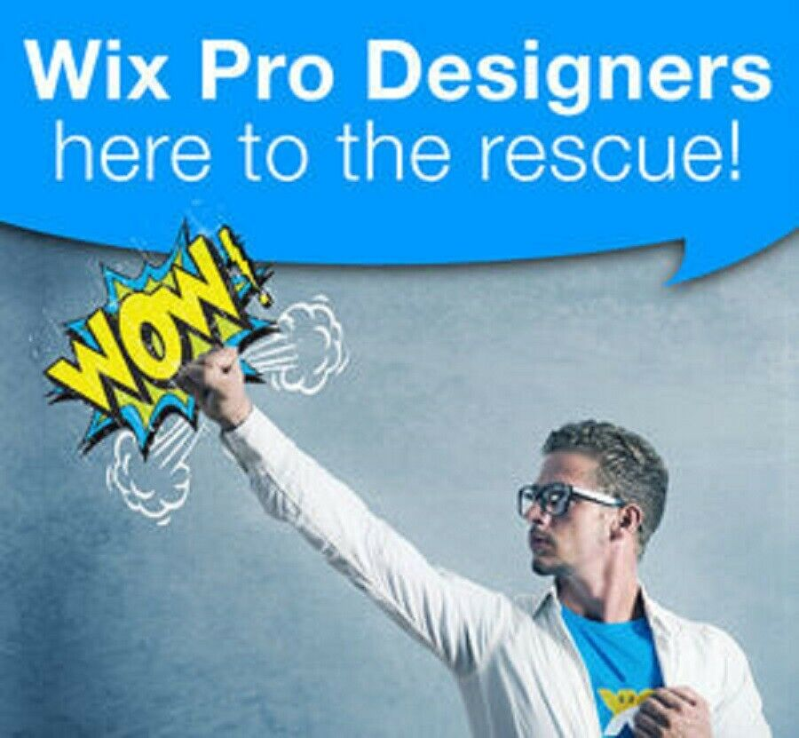 Design ,Redesign And Customize Wix Dynamic Website (Bronze Package)