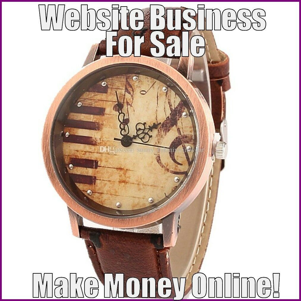 FASHION WATCHES Website Earn $76.51 A SALE|FREE Domain|FREE Hosting|FREE Traffic