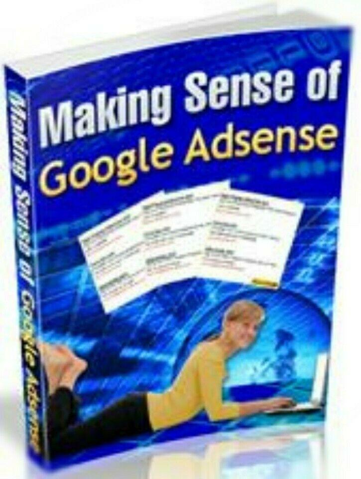 [FREE SHIP] Making Sense Of Google Adsense - Make Money With Adsense