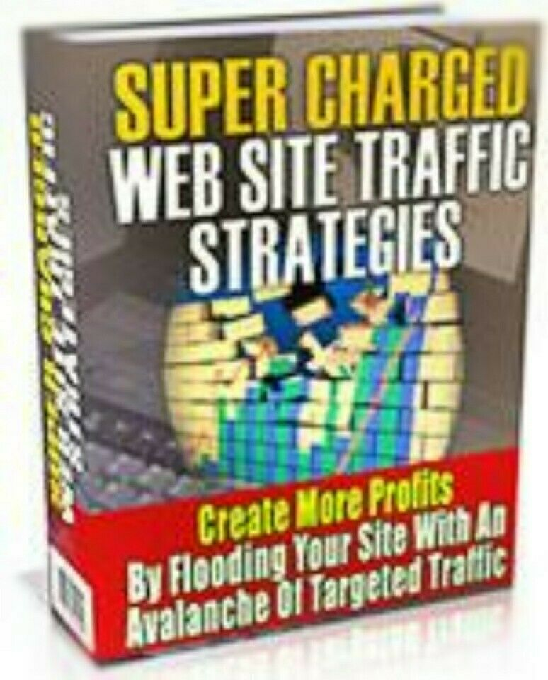 [FREE SHIP] Super Charged Website Traffic Strategies