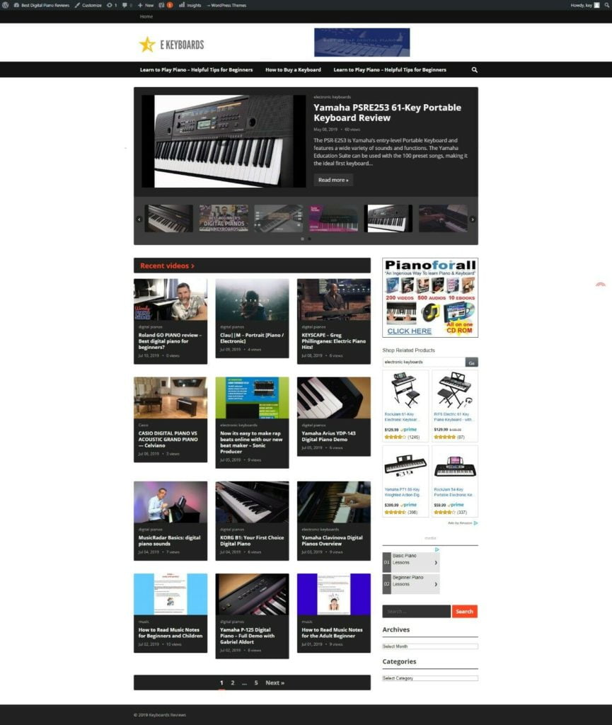 Fully Automated Responsive Wordpress Website - Money-making Video Affiliate Site