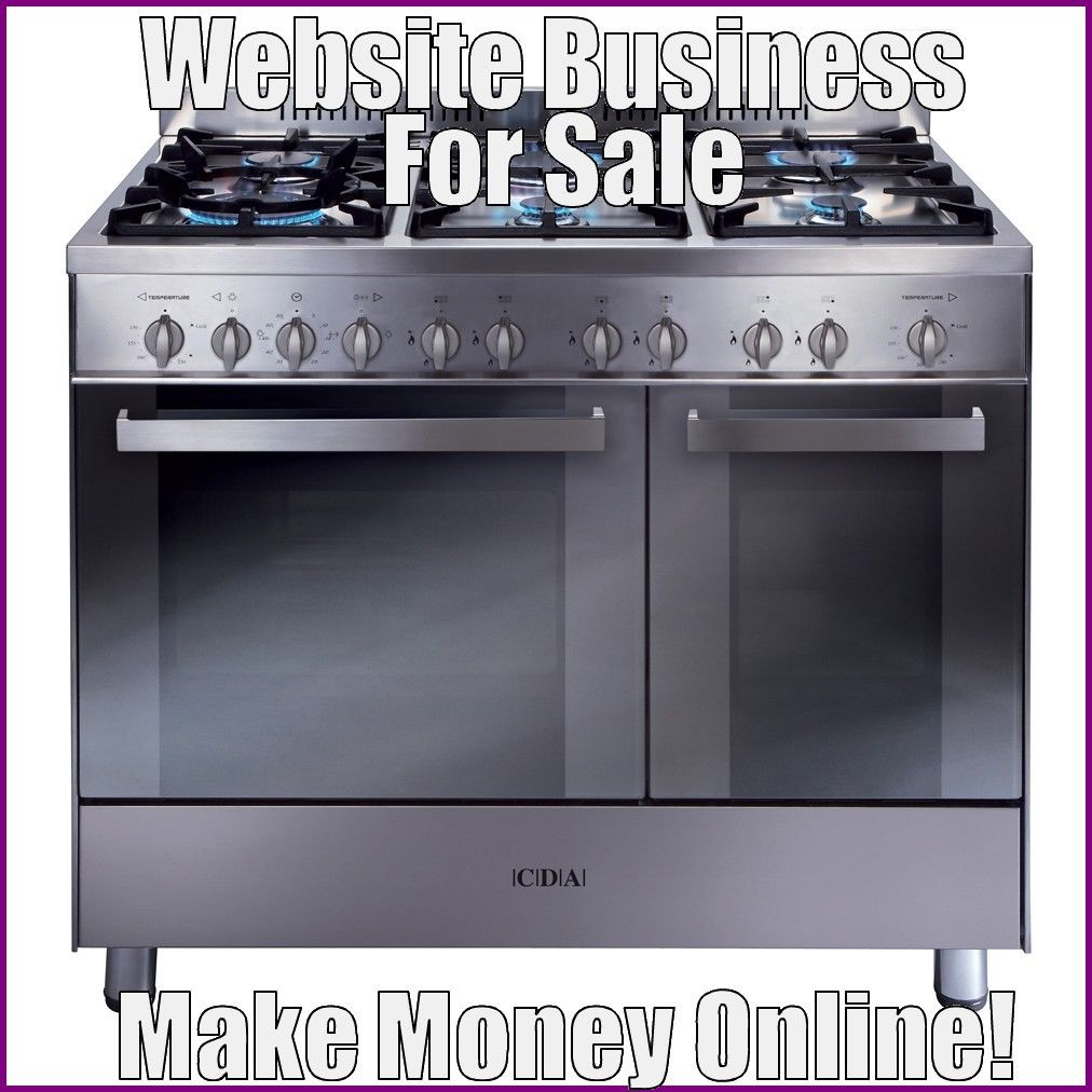 Fully Stocked COOKERS Website Business|FREE Domain|FREE Hosting|FREE Traffic