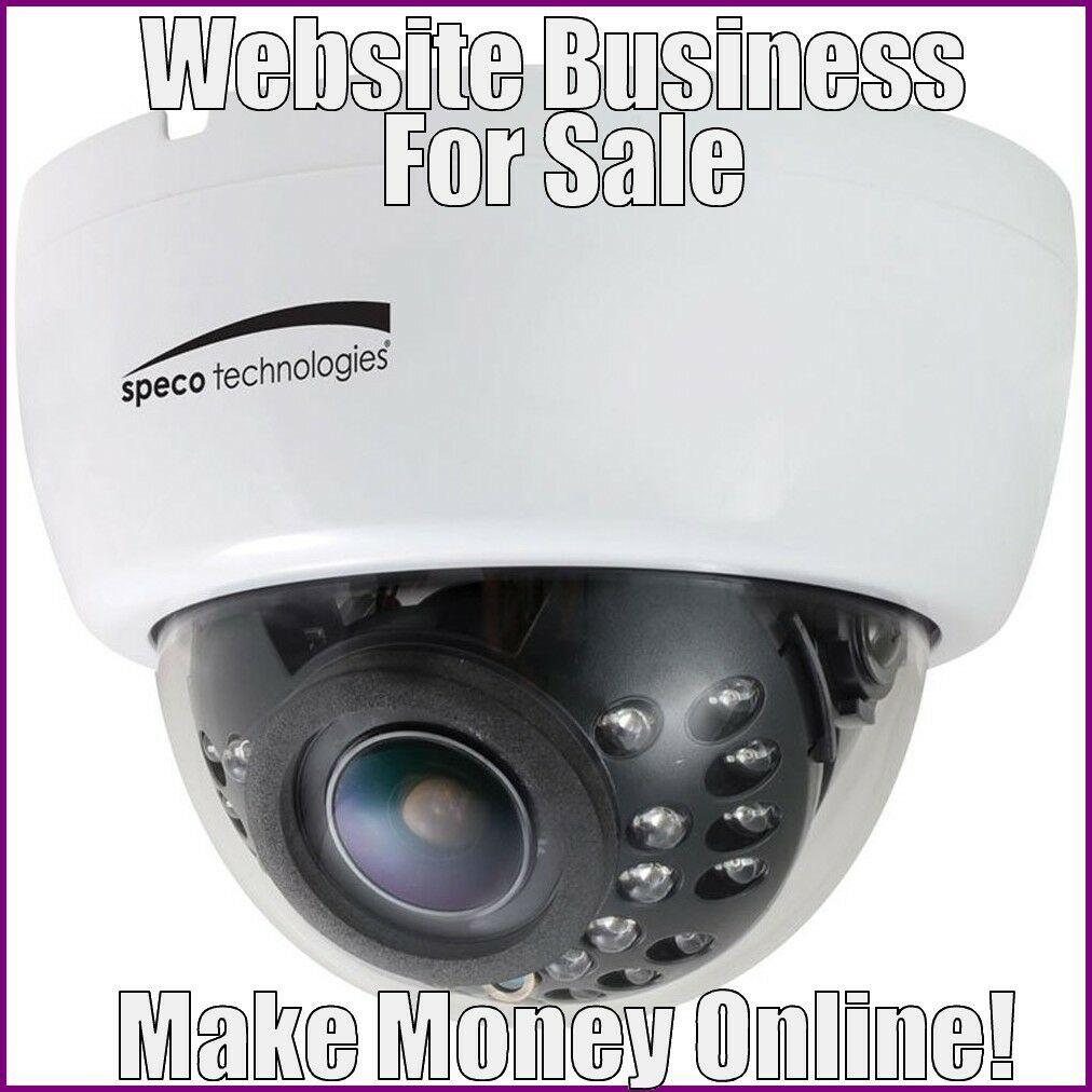 Fully Stocked DOME CAMERAS Website Business|FREE Domain|FREE Hosting|Traffic