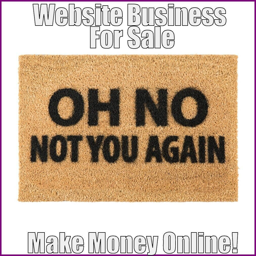 Fully Stocked DOORMATS Website Business|FREE Domain|FREE Hosting|FREE Traffic