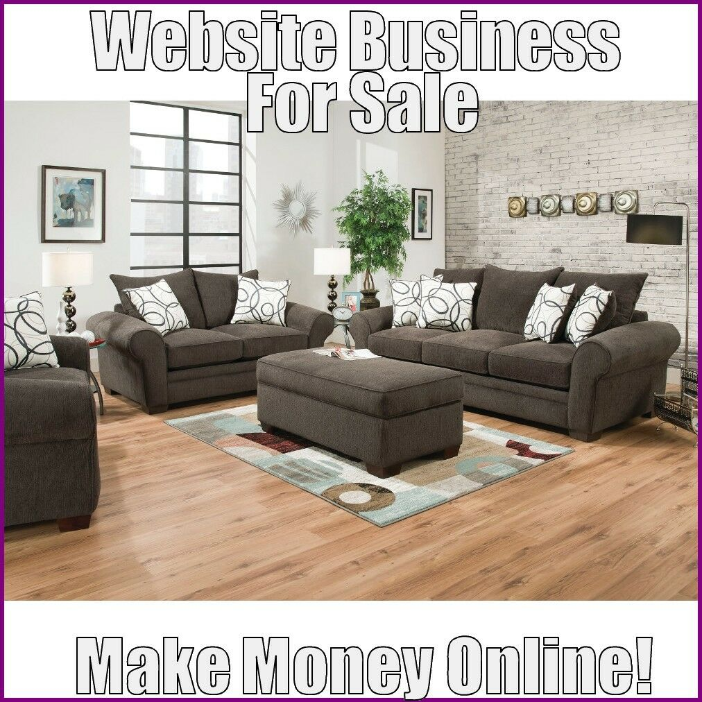 Fully Stocked LIVING ROOM FURNITURE Website Business|FREE Domain|Hosting|Tr