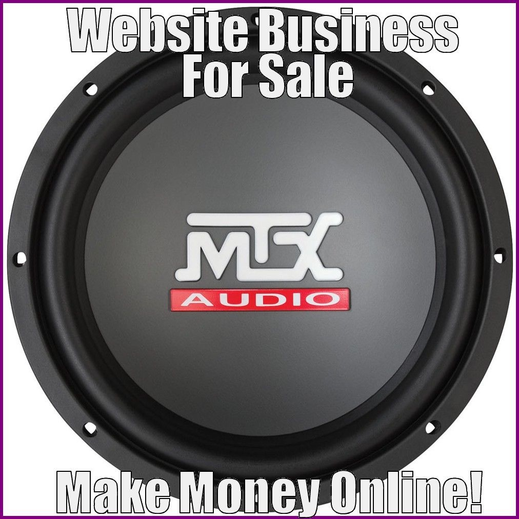 Fully Stocked SUBWOOFERS Website Business|FREE Domain|FREE Hosting|FREE Traffic